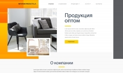Сайт-визитка: Netstone Products